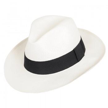 Sommer Hut Bogart für Herren Hut Sommerhut Strandhut von Faustmann weiß