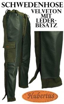 105422- Stiefel- Schwedenhose mit Büffellederbesatz