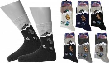 Strümpfe Socken Trachten Alpen Stil Murmeltier Oktoberfest