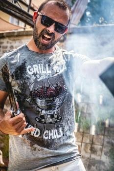 Trachten bayrisch T-Shirt mit Druck