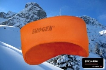 45902- Fleece- Strinband in leuchtorange